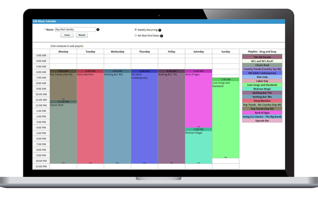 Six Business Music Scheduling Hacks